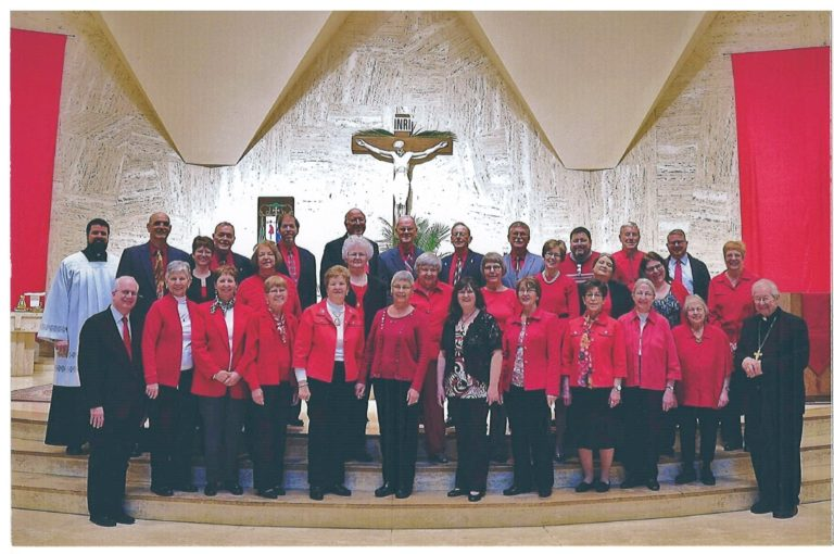 Cathedral of St. Joseph Adult Choir, 2017