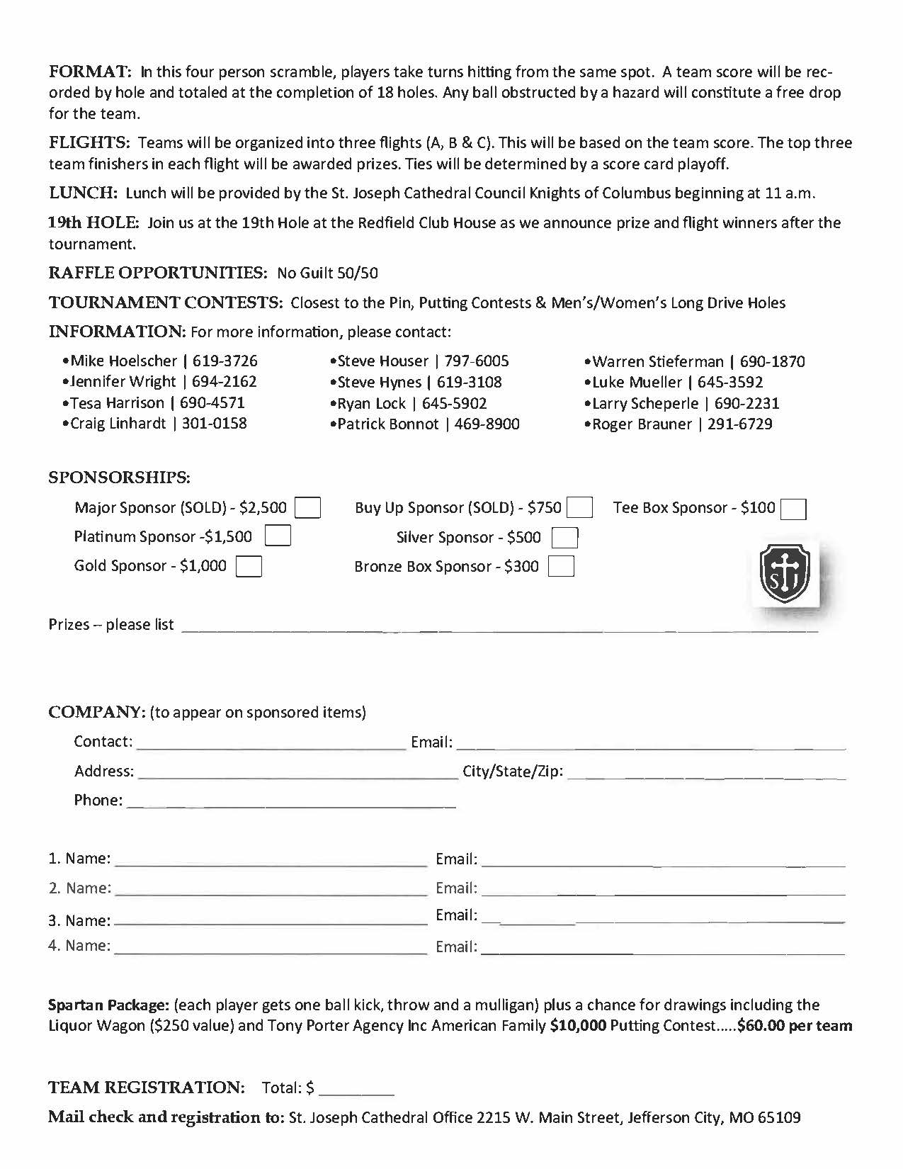 Golf Tournament 2021 Page 2