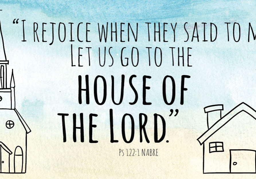 Let Us Go To The House Of The Lord 582x300 Email Banner